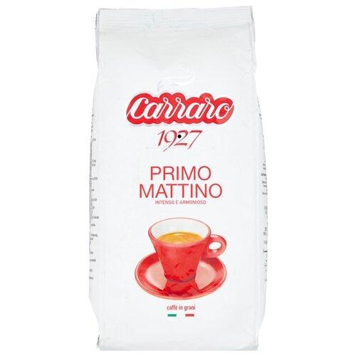 Кофе в зернах Carraro Primo Mattino, арабика/робуста, 1000 г цена 2017