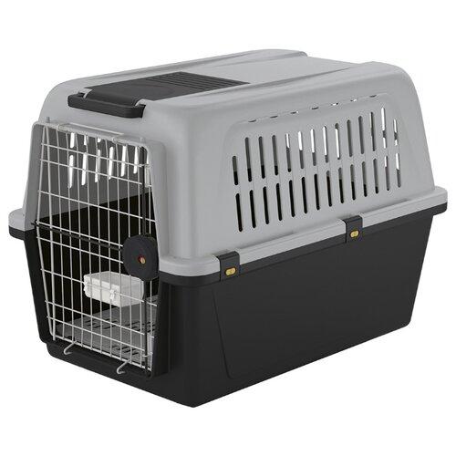 Клиппер-переноска для собак Ferplast Atlas 60 Professional 91х61х66 см серый/черный