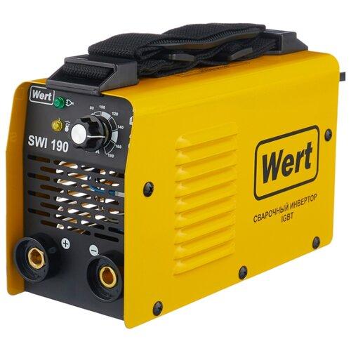 Сварочный аппарат Wert SWI 190 (TIG, MMA) сварочный инвертор wert mma 250n