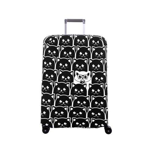 Чехол для чемодана ROUTEMARK Неотразимый SP180 M/L, черный
