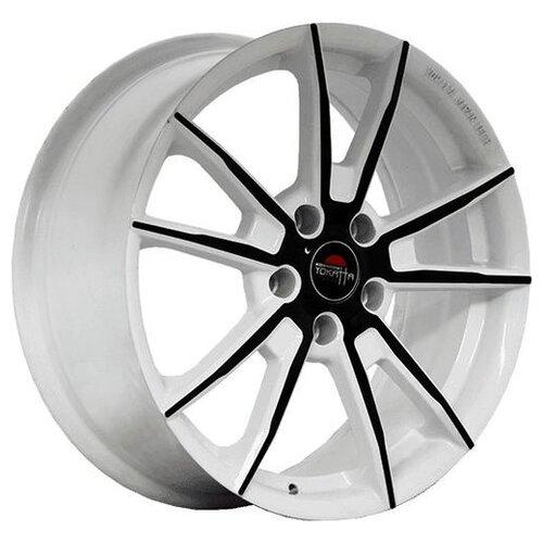Фото - Колесный диск Yokatta Model-27 7x17/5x112 D57.1 ET43 W+B колесный диск yokatta model 27 7x17 5x114 3 d64 1 et50 w b
