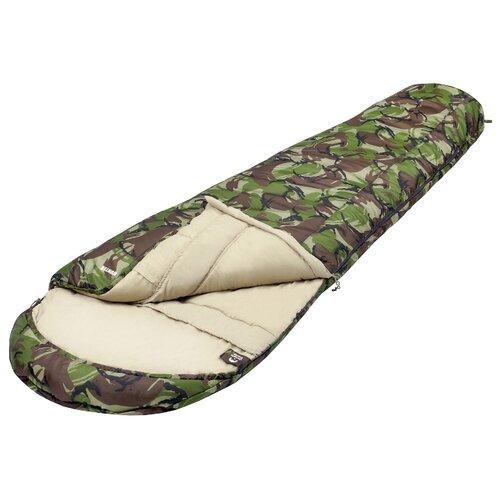 Спальный мешок Jungle Camp Hunter камуфляж с левой стороны