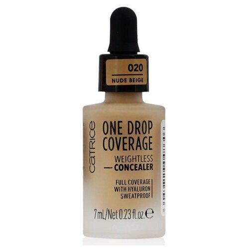 CATRICE Консилер One Drop Coverage Weightless Concealer, оттенок 020 nude beige недорого
