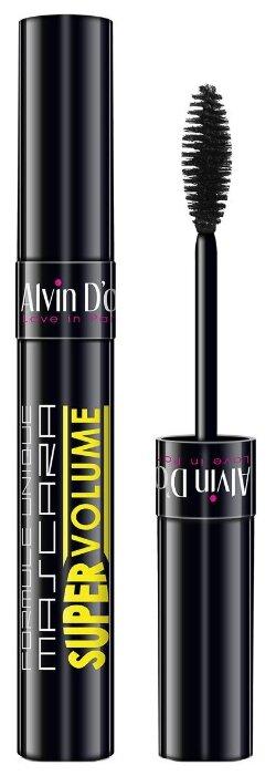 Alvin D'or Тушь для ресниц Super Volume