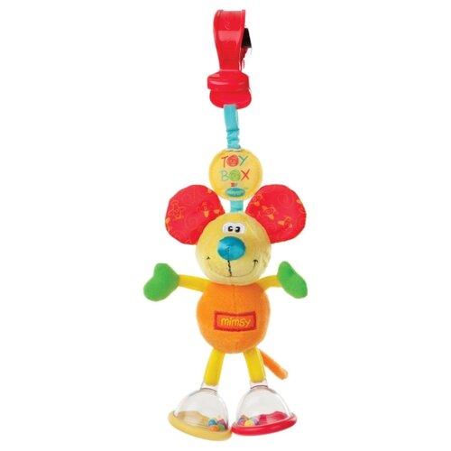 Купить Подвесная игрушка Playgro Мышка Шатун - болтун (0101141) голубой/красный/зеленый/желтый, Подвески