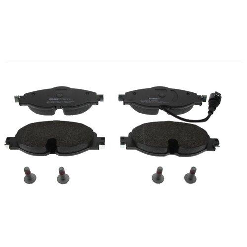 Дисковые тормозные колодки передние Ferodo FDB4433 для Audi, Skoda, SEAT, Volkswagen (4 шт.) дисковые тормозные колодки передние marshall m2621974 для skoda volkswagen seat audi 4 шт
