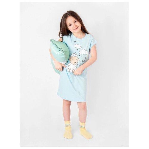 Купить Сорочка RICH LINE размер 110, голубой, Домашняя одежда