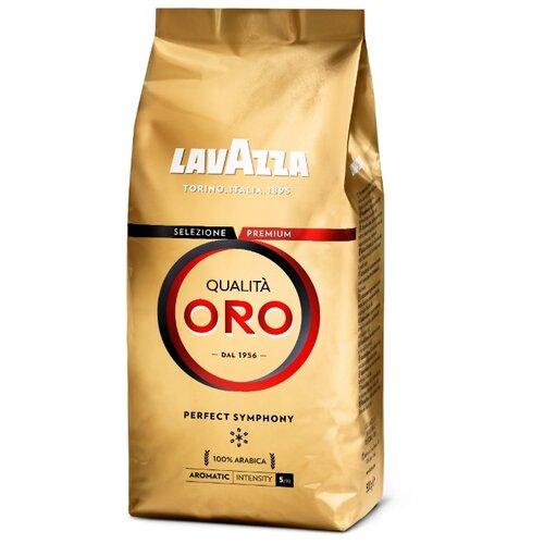 цена Кофе в зернах Lavazza Qualita Oro, арабика, 500 г онлайн в 2017 году