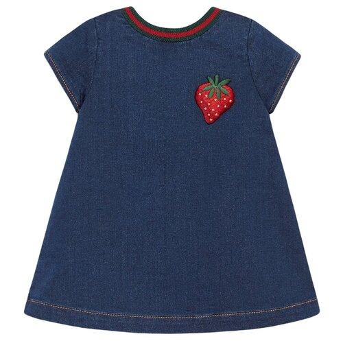 Платье GUCCI размер 74-80, синий