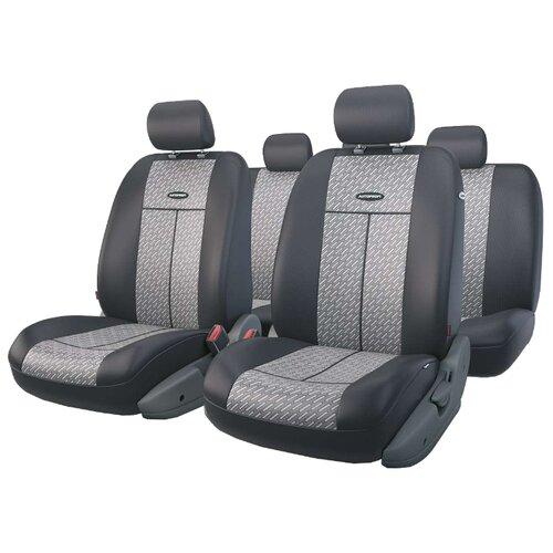 Комплект чехлов AUTOPROFI TT-902J темно-серый аксессуары для автомобиля autoprofi автомобильные чехлы tt airbag tt 902j 9 предметов