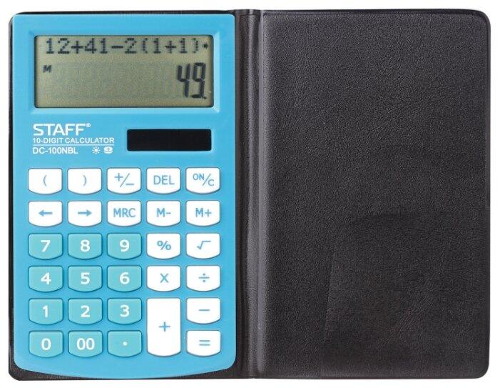 Калькулятор карманный STAFF PLUS DC-100NBL