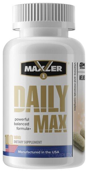 Минерально-витаминный комплекс Maxler Daily Max (100 таблеток)