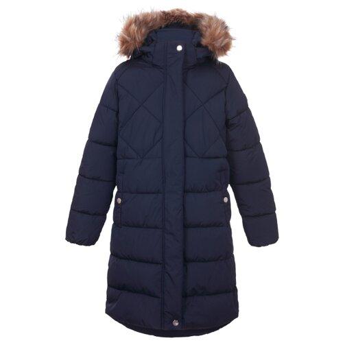 Пальто LUHTA 434063396L6V391 размер 146, темно-синий пальто для девочек luhta 434013356l7v цвет розовый р 164 100%полиэстер 605
