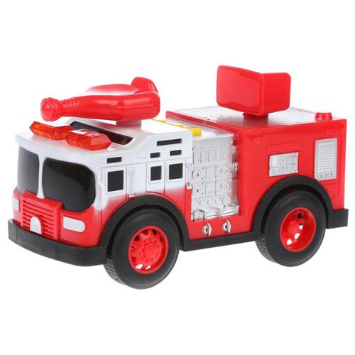 Пожарный автомобиль Yako Городские службы (M0271-2F) 18 см красный yako yako радиоуправляемая машина городские службы эвакуатор 1 20