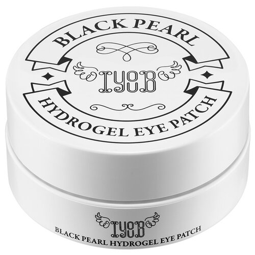 IYOUB Гидрогелевые патчи с черным жемчугом Hydrogel Eye Patch Black Pearl (60 шт.) гидрогелевые патчи pearl