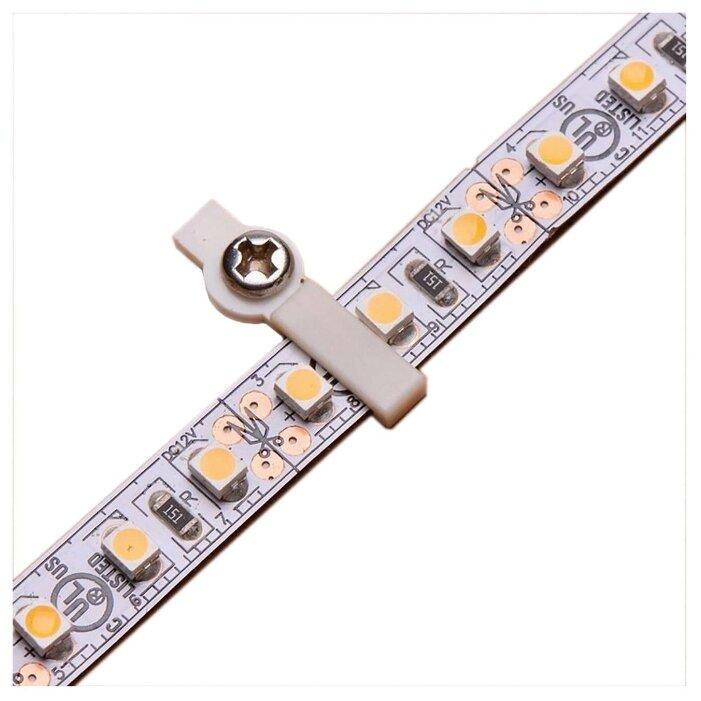 Аксессуары для ленты 12 В и 24 В Neon-Night Монтажная клипса для светодиодной ленты шириной 8 мм Neon-Night, 50шт. в упаковке, арт. 144-096