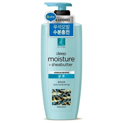 Elastine шампунь Deep Moisture + Sheabutter для интенсивного увлажнения 400 мл elastine шампунь intensive damage ceramide для интенсивного восстановления 400 мл