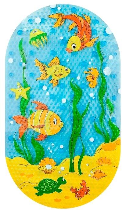Коврик для ванной Valiant Подводный Мир