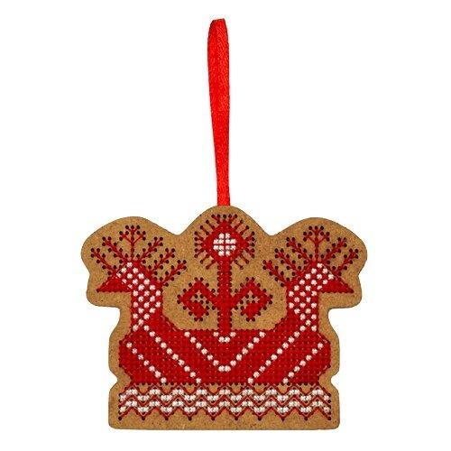 Созвездие Набор для вышивания крестом на основе Солнечная ладья 6 х 8 см (О-110) созвездие набор для вышивания крестом на основе новогодняя игрушка утренняя звезда 7 5 х 7 5 см ик 008