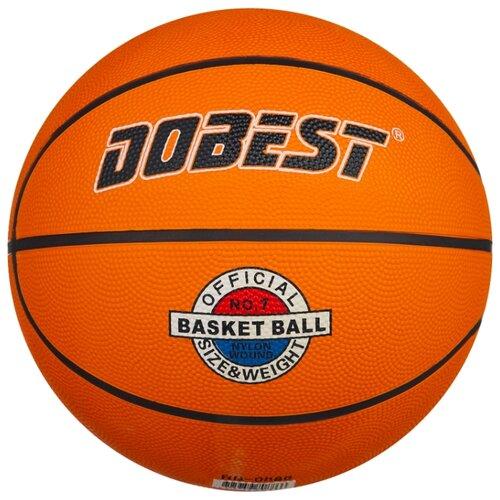 Баскетбольный мяч Dobest RB7-0886, р. 7 оранжевый