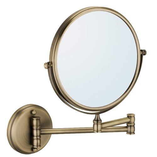 Зеркало косметическое настенное Fixsen Antik FX-61121 античная латунь