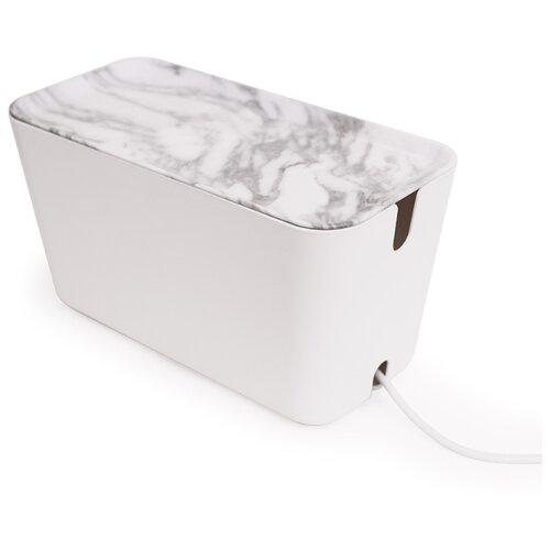 Органайзер Bosign для проводов CableBox большой белый-серый
