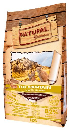 Корм для кошек NATURAL Greatness Top Mountain