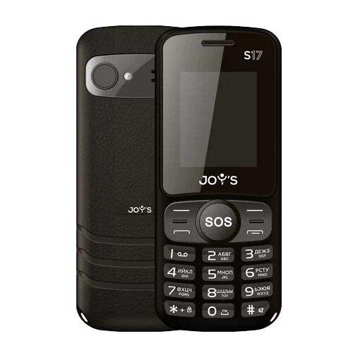Телефон JOY'S S17 черный