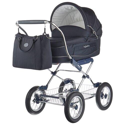Купить Коляска для новорожденных Inglesina Vittoria (шасси Comfort Chrome) marina chrome/blue, Коляски