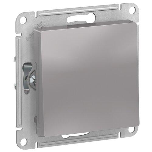 Выключатель 1-полюсный Schneider Electric ATN000311 AtlasDesign, 10 А, алюминиевый выключатель 1 полюсный schneider electric atn000211 atlasdesign 10 а бежевый