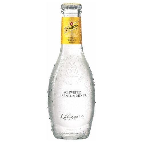 Газированный напиток Schweppes Premium Mixer Tonic, 0.2 л, 4 шт. schweppes индиан тоник напиток сильногазированный 1 5 л