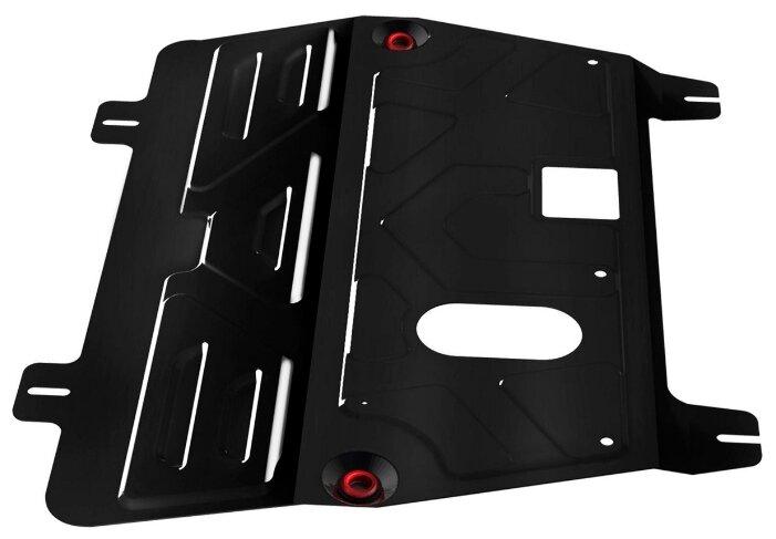 Защита картера двигателя и коробки передач Автоброня 111.04111.1 для Nissan