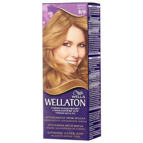 Wellaton стойкая крем-краска для волос, 8/0 песочный idlamp 258 258 8 gold