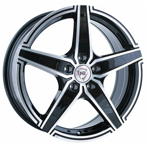 Фото - Колесный диск NZ Wheels F-1 6x15/5x100 D57.1 ET40 BKF колесный диск nz wheels f 42 6x15 4x100 d60 1 et40 bkbsi