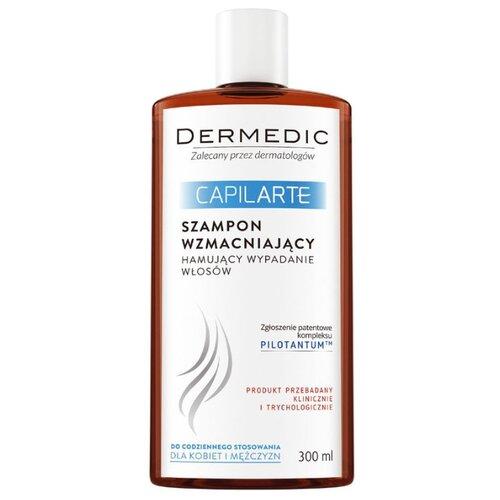 Dermedic шампунь Capilarte укрепляющий против выпадения волос, 300 мл ducray неоптид лосьон от выпадения волос для мужчин 100 мл