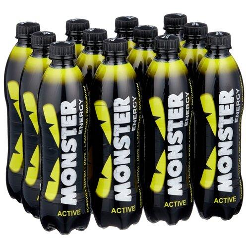 Энергетический напиток Monster Energy Active, 0.5 л, 12 шт.