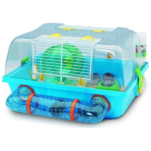 Клетка для грызунов SAVIC Spelos Metro A0190-0000 42.5х38х24 см голубой