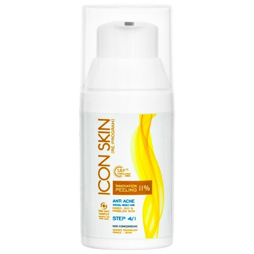Icon Skin пилинг Innovation peeling 11%, 30 мл пилинг skin tech цена