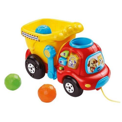 Купить Интерактивная развивающая игрушка VTech Самосвал Погрузи и вези красный/желтый, Развивающие игрушки