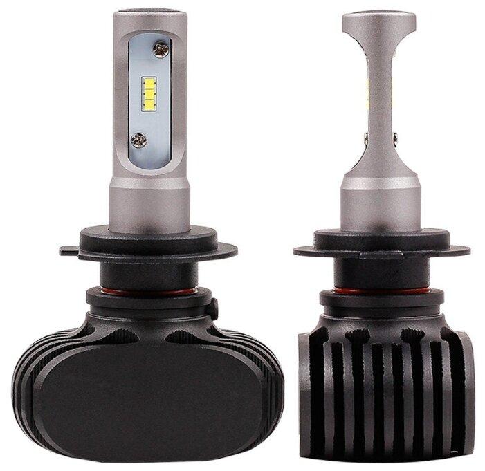 Лампа автомобильная светодиодная Vizant D5 цоколь H7 с чипом csp 2 шт.