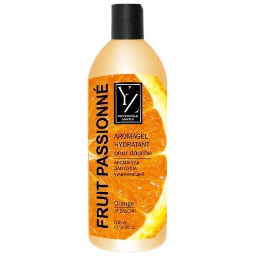 Аромагель для душа YIIoZure увлажняющий Апельсин, 500 мл гель для душа yllozure yllozure yl001lwfz982