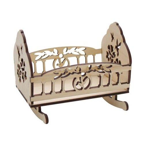 Купить Astra & Craft Деревянная заготовка для декорирования люлька Голубки L-468 береза, Декоративные элементы и материалы