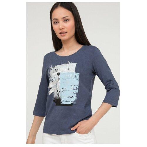 Лонгслив FiNN FLARE S20-11067 размер XL, серо-голубой