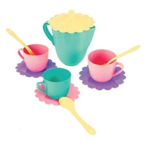 Фото - Набор посуды Mary Poppins Бабочка 39319 фиолетовый/голубой/розовый/желтый сумка бочонок mary poppins зайка 530035 пластик розовый голубой