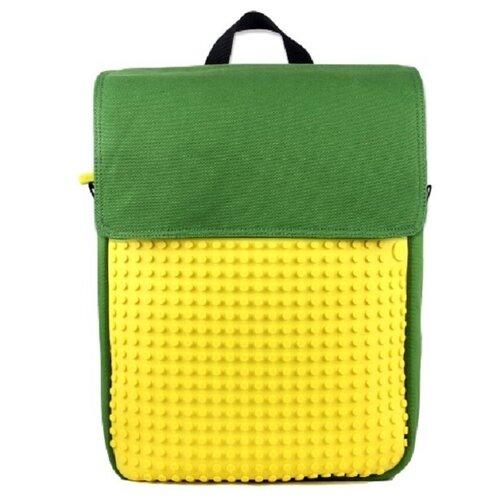 Купить Upixel Рюкзак Canvas Top Lid pixel Backpack (WY-A005), зеленый/желтый, Рюкзаки, ранцы