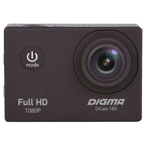 Экшн-камера DIGMA DiCam 160 черный