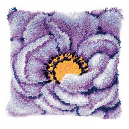 Купить Vervaco Набор для вышивания Лиловый цветок 40 x 40 см (0021852-PN), Наборы для вышивания
