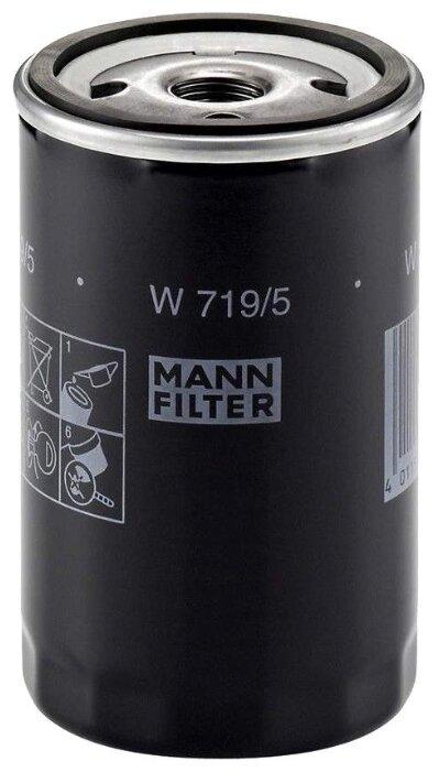 Масляный фильтр MANNFILTER W719/5