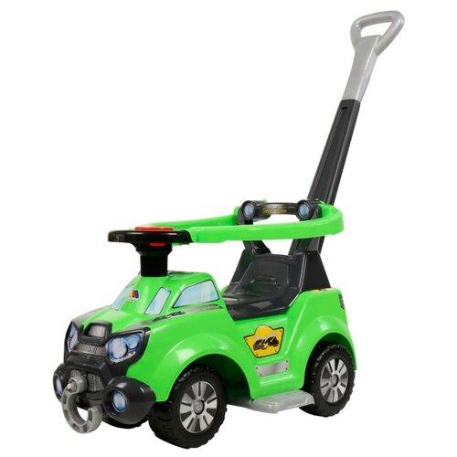Каталка-толокар Molto Sokol (48172) со звуковыми эффектами зеленый каталка толокар orion toys мотоцикл 2 х колесный 501 зеленый