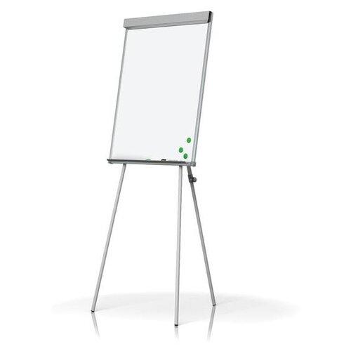 Купить Доска-флипчарт магнитно-маркерная Attache на треноге 142356 (100х70 см) белый, Доски